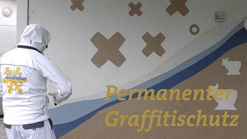 Permanenter Graffitischutz von Malerhauck