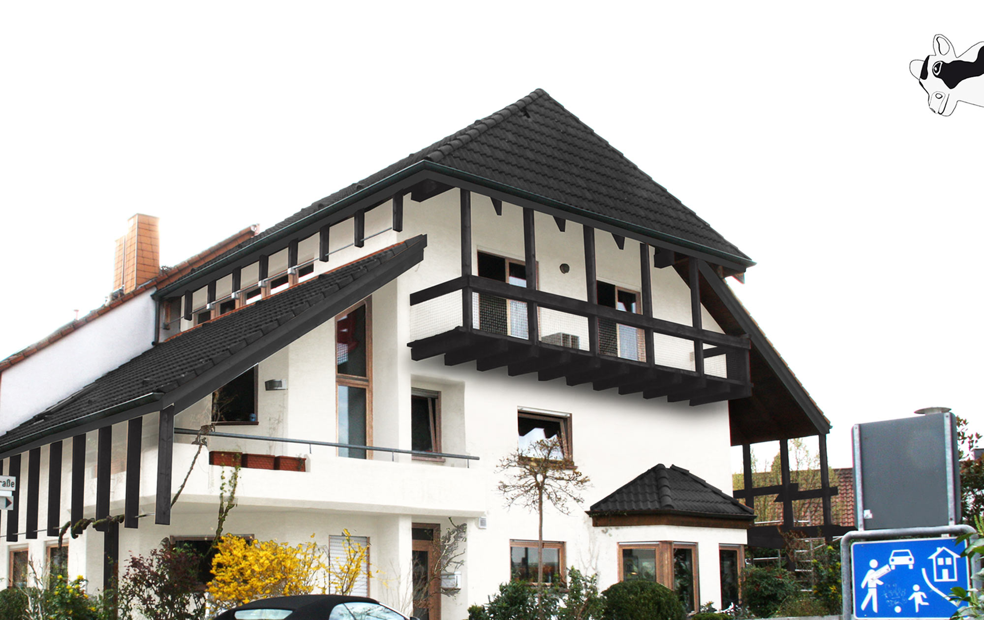 Digitale Farbberatung Fassade