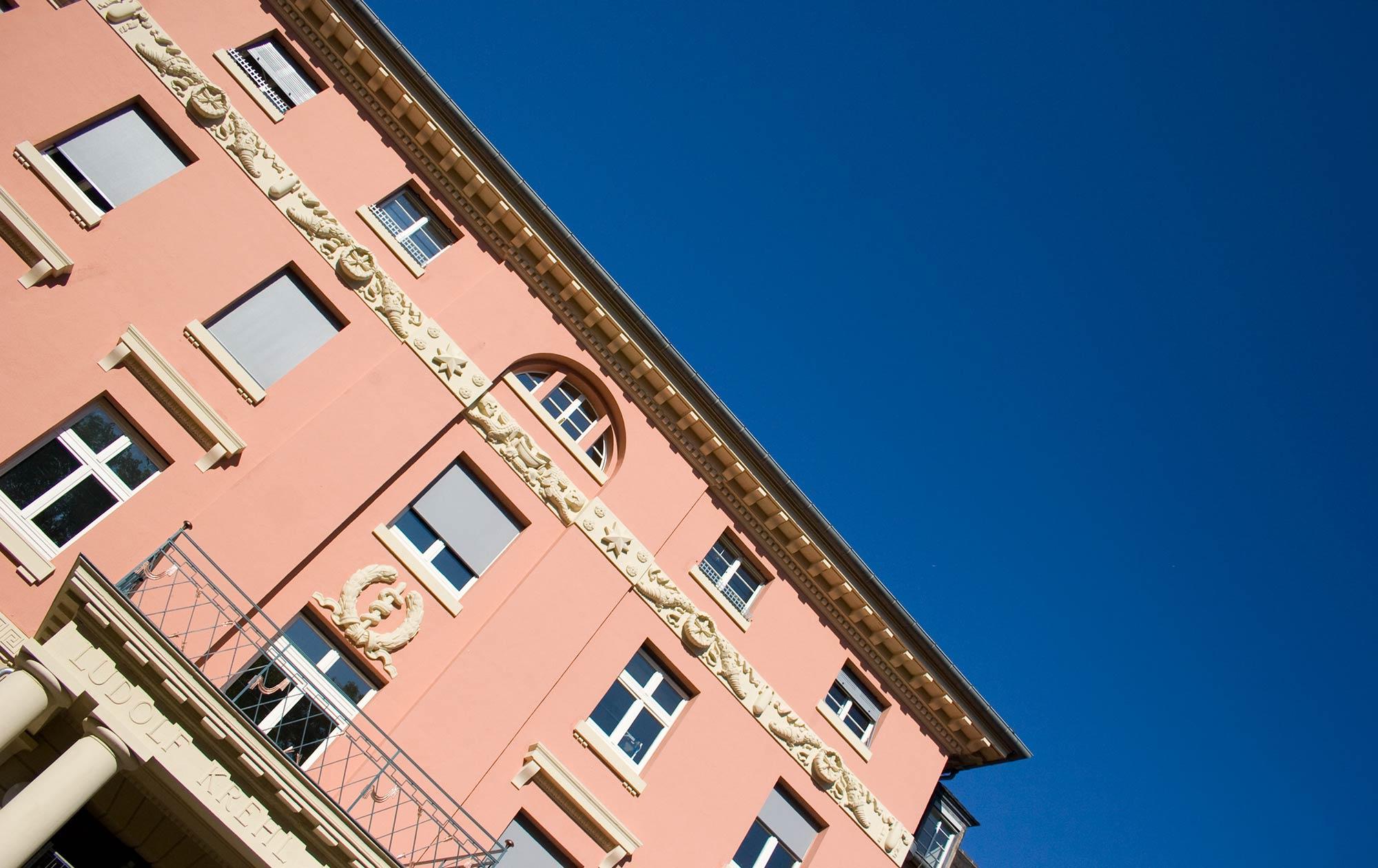 Fassade Ludolf Krehl Klinik