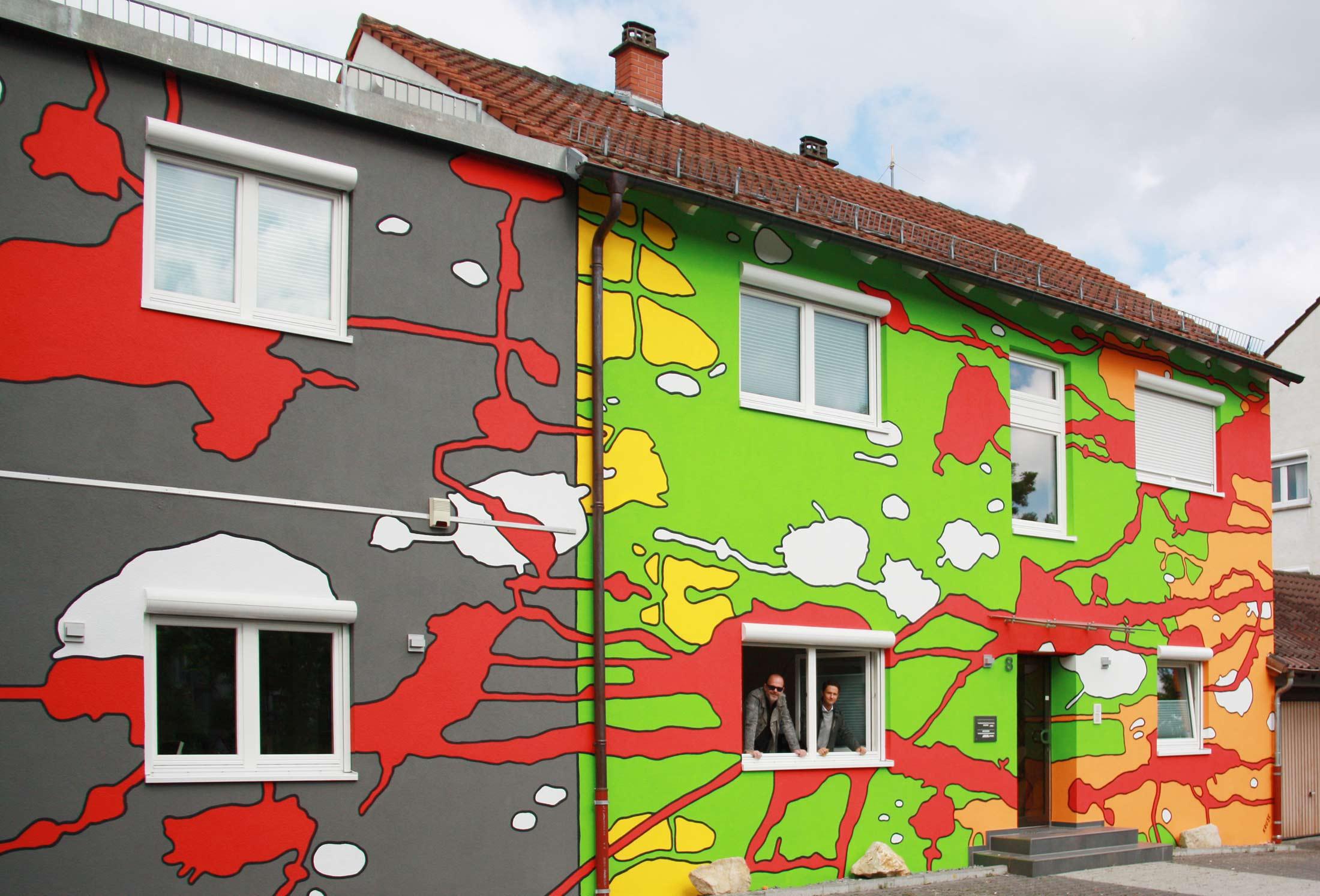Malerhauck-Fassade von Carsten Kruse