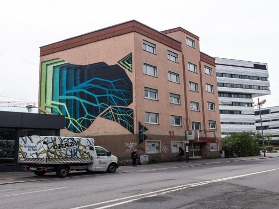 Cräzy Walls am alten Puff Heidelberg | MALERHAUCK